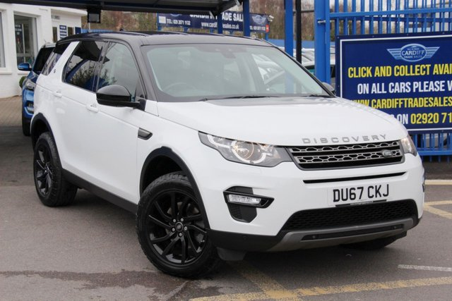 2018 67 LAND ROVER DISCOVERY SPORT 2.0 TD4 SE TECH 5d 180 BHP