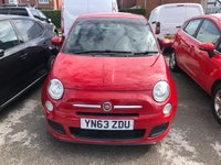 USED 2013 63 FIAT 500 1.2 S 3d 4 Seat Hatchback Lovely Spec and Great Value for Money