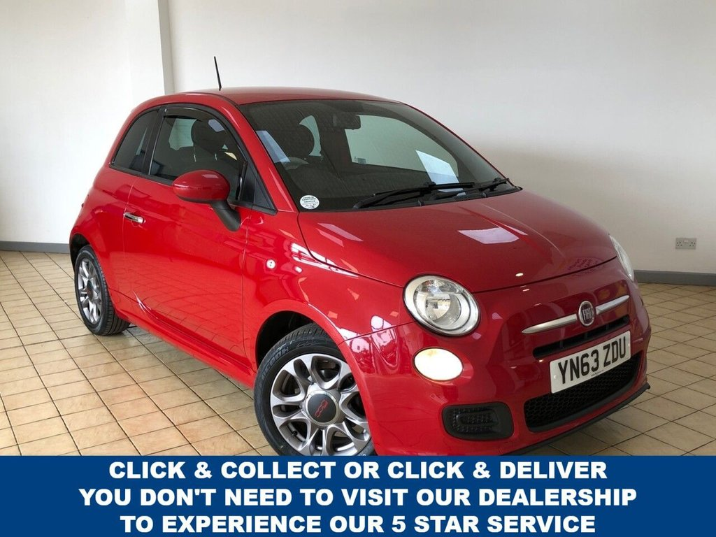 USED 2013 63 FIAT 500 1.2 S 3d 4 Seat Hatchback Lovely Spec and Great Value for Money Recent Service & MOT 2 New Tyres and New Timing Belt Ready to Finance and Drive Away Today  Perfect first car or run around