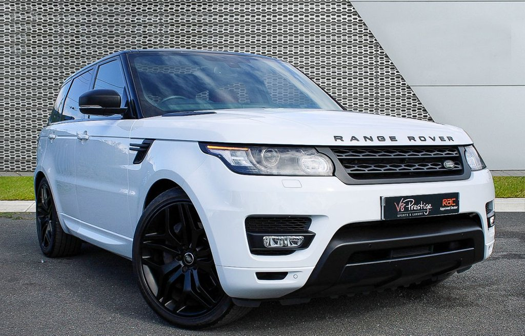 USED 2015 15 LAND ROVER RANGE ROVER SPORT 3.0 SDV6 HSE DYNAMIC 5d 306 BHP *AUTOBIOGRAPHY PACK/PAN ROOF*