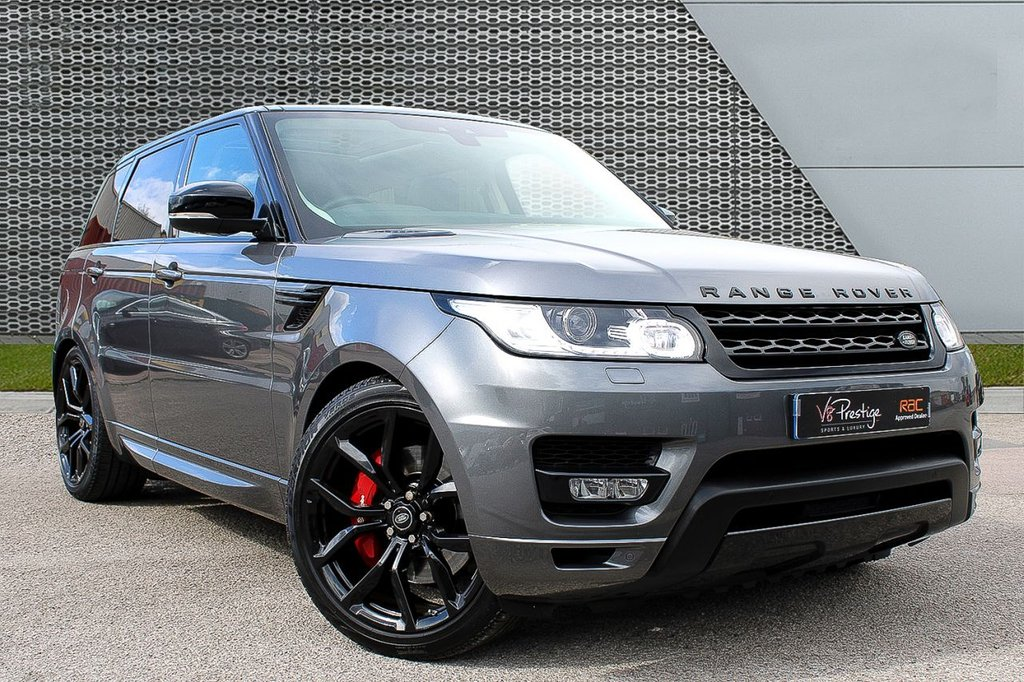 "USED 2017 66 LAND ROVER RANGE ROVER SPORT 3.0 SDV6 HSE DYNAMIC 5d 306 BHP **V-DISPLAY/PAN ROOF/22"" ALLOYS**"