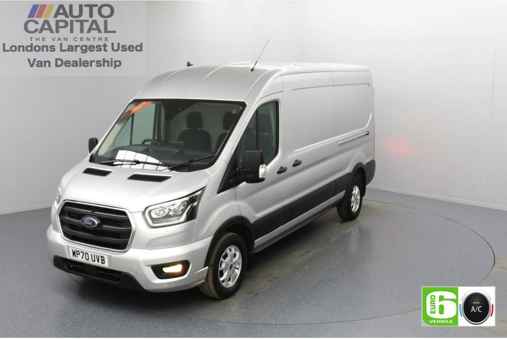 USED 2020 70 FORD TRANSIT 2.0 350 FWD Limited EcoBlue Auto 185 BHP L3 H2 Low Emission Automatic Gearbox | Eco Mode | Auto Start-Stop | Front and rear parking distance sensors | Alloy wheels
