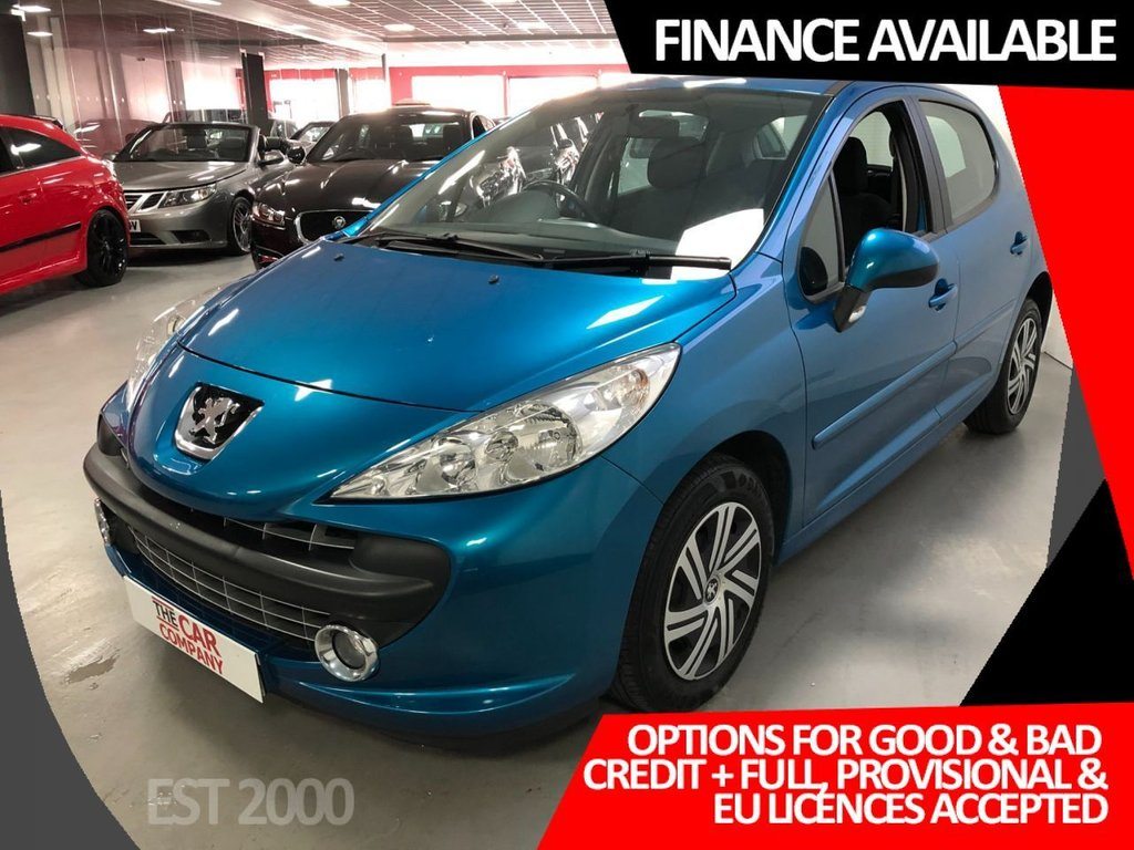 USED 2007 57 PEUGEOT 207 1.4 MPLAY 5d 73 BHP * AIR CONDITIONING  * 2 KEYS * 7 STAMPS *