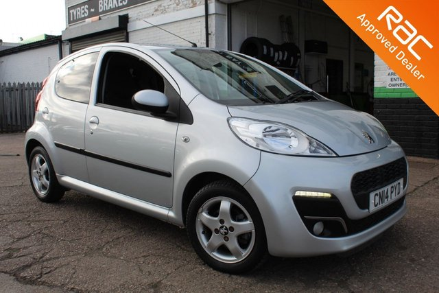 USED 2014 14 PEUGEOT 107 1.0 ALLURE 5d 68 BHP SEMI AUTOMATIC VIEW AND RESERVE ONLINE OR CALL 01527-853940 FOR MORE INFO.