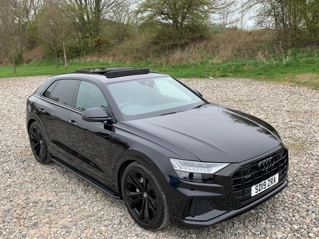 USED 2019 19 AUDI Q8 3.0 TDI QUATTRO S LINE 5d 282 BHP Free Next  Day Nationwide Delivery