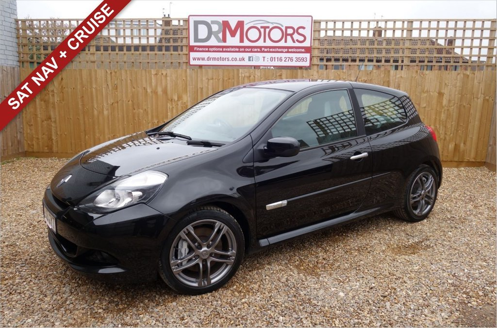 USED 2009 59 RENAULT CLIO 2.0 RENAULTSPORT 3d 197 BHP *** 6 MONTHS NATIONWIDE GOLD WARRANTY ***