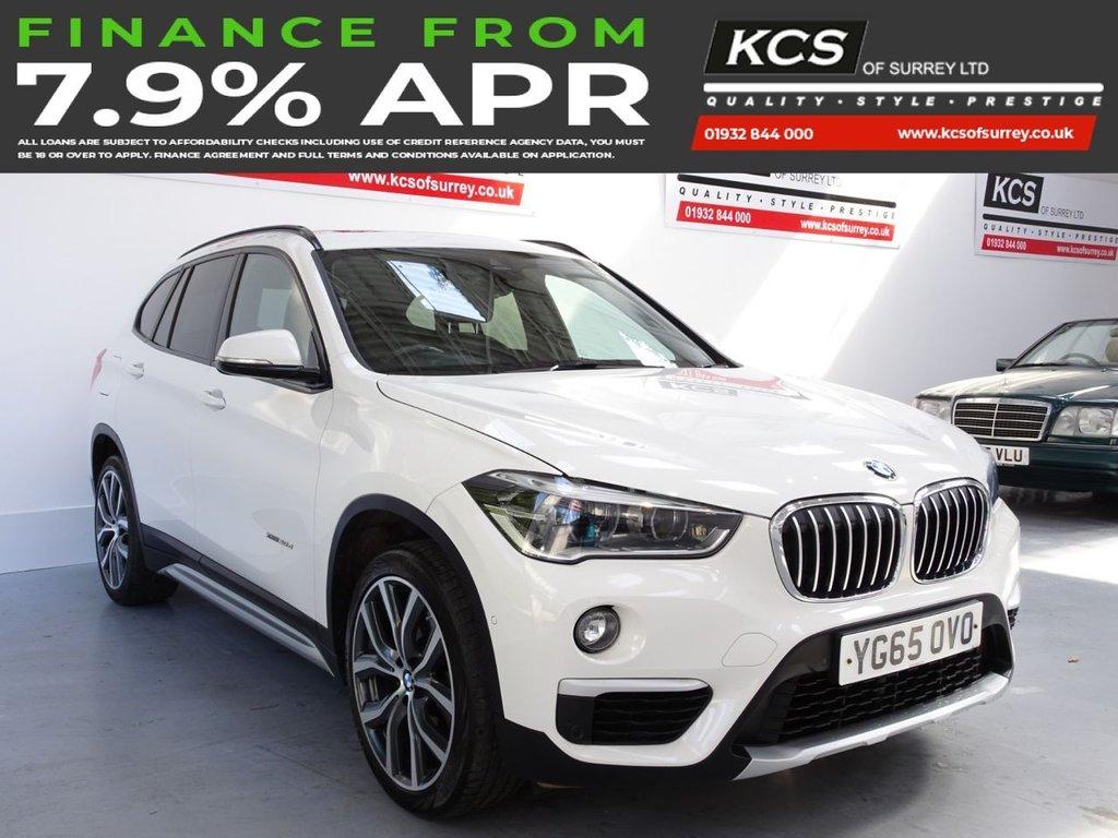 USED 2015 65 BMW X1 2.0 XDRIVE20D XLINE 5d 188 BHP SAT NAV - PAN ROOF - HTD SEATS