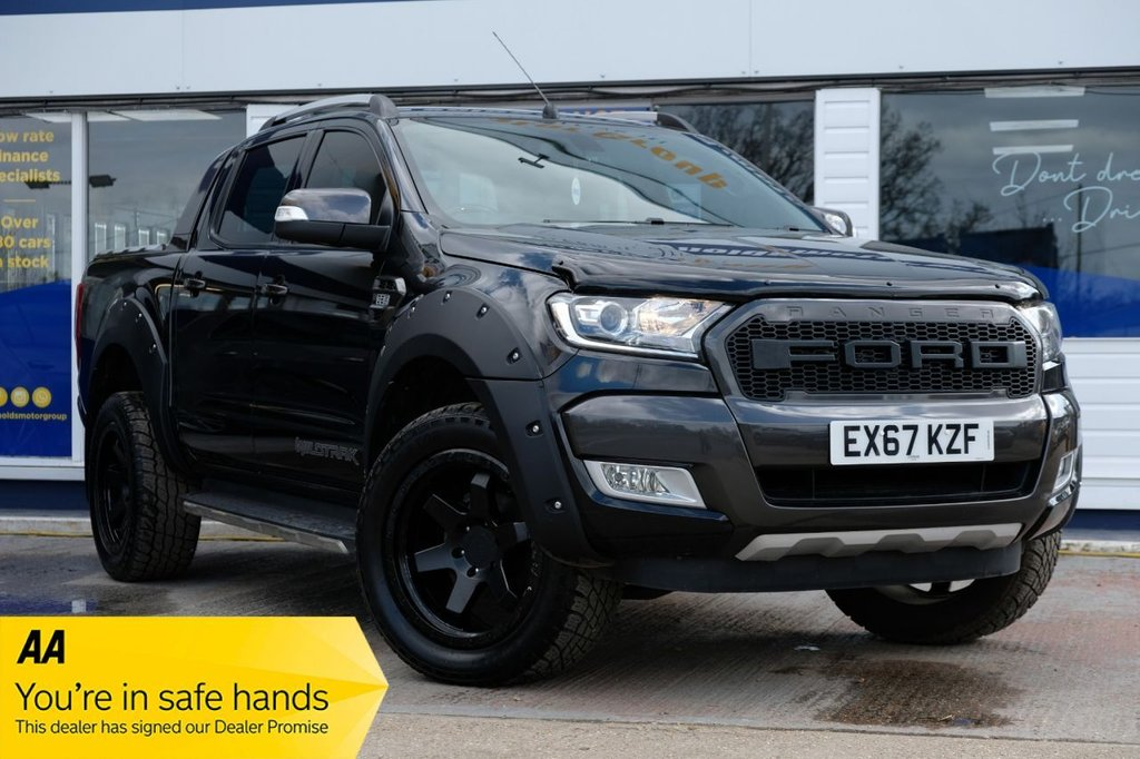 USED 2017 67 FORD RANGER 3.2 WILDTRAK 4X4 DCB TDCI 4d 197 BHP RAPTOR EDITION AVAILABLE FOR £489 PER MONTH £0 DEPOSIT