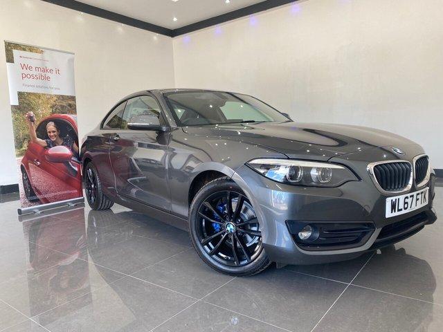 USED 2017 67 BMW 2 SERIES 2.0 218D SPORT 2d 148 BHP