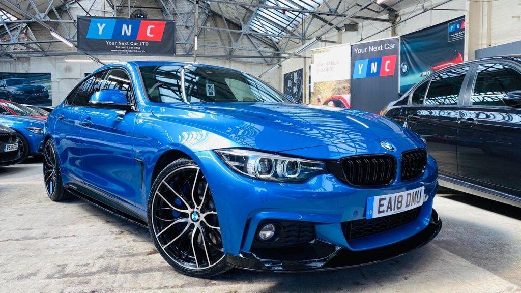 USED 2018 18 BMW 4 SERIES 3.0 440i M Sport Gran Coupe Auto (s/s) 5dr PERFORMANCEKIT+HUGESPEC!+440i