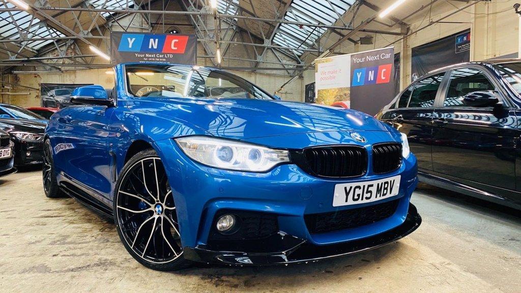 USED 2015 15 BMW 4 SERIES 3.0 430d M Sport Auto 2dr PERFORMANCEKIT+20S+MPLUSPACK