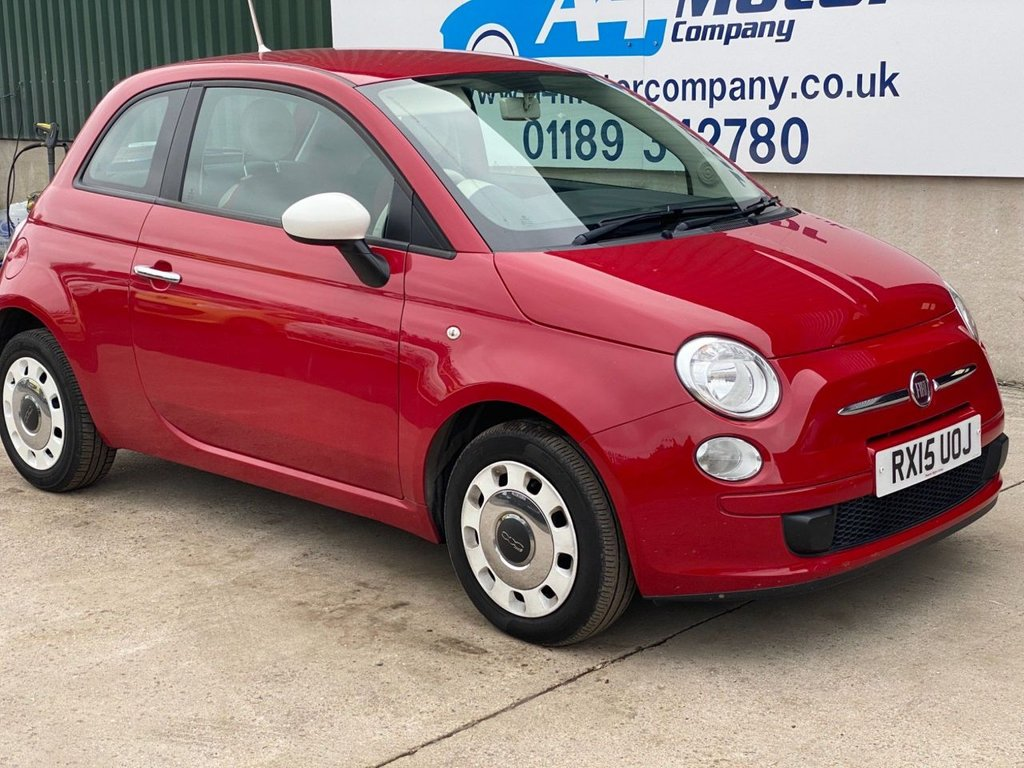 USED 2015 15 FIAT 500 1.2 Colour Therapy (s/s) 3dr PETROL ,OPEN BY APPOINTMENT