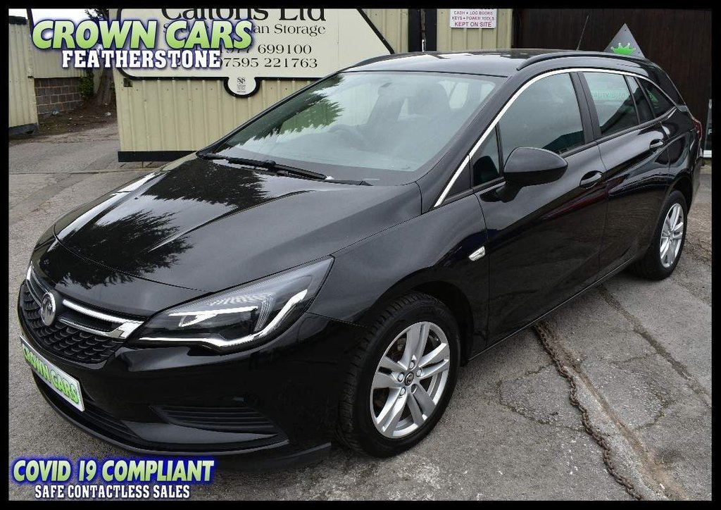 USED 2017 66 VAUXHALL ASTRA 1.6 CDTi ecoFLEX Design Sports Tourer (s/s) 5dr AMAZING VALUE ESTATE CAR