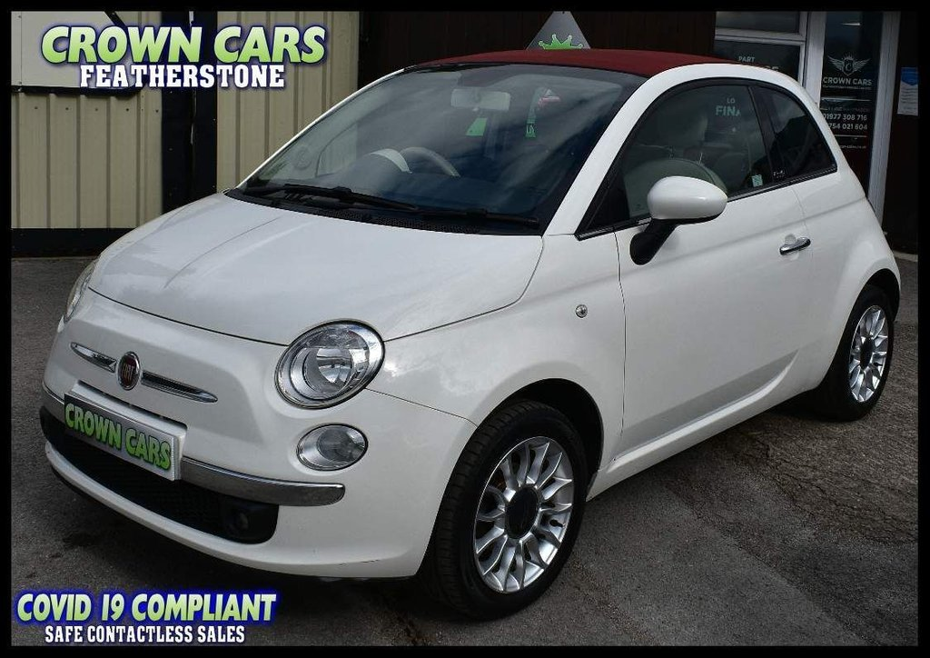 USED 2013 63 FIAT 500C 1.2 Lounge 2dr OUTSTANDING CHERISHED EXAMPLE