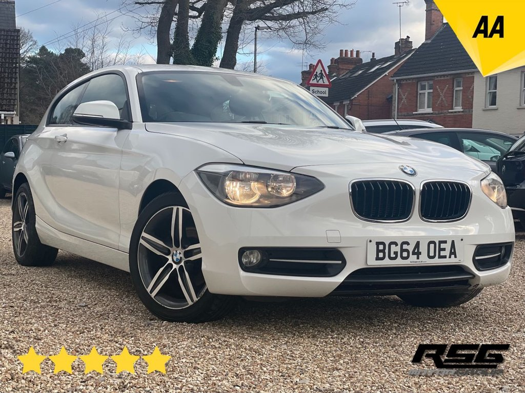 USED 2014 64 BMW 1 SERIES 1.6 116I SPORT 3d 135 BHP