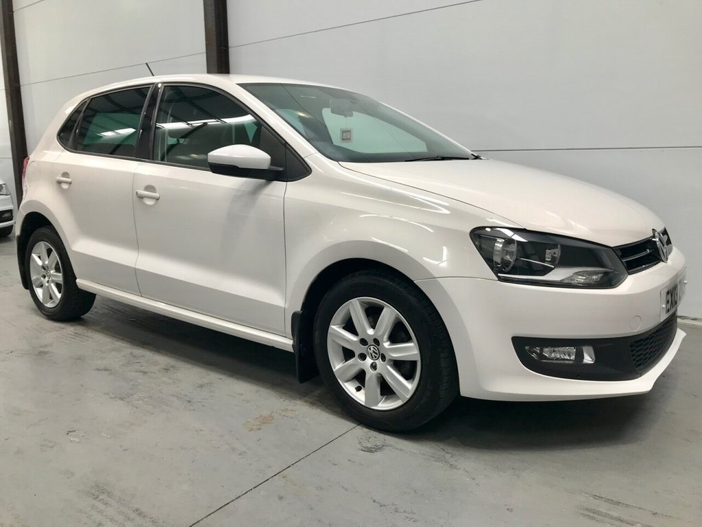 USED 2013 13 VOLKSWAGEN POLO 1.2L MATCH EDITION 5d 59 BHP Very Low Mileage, FSH