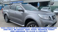 USED 2018 18 NISSAN NAVARA 2.3 DCI TEKNA 4X4 5 Seat 4dr Double Cab Pickup AUTO in Stunning Condition Massive High Spec inc Rear Canopy with Windows Side Steps Towbar Diff Lock Option Heated Leather Seats Sat Nav Bluetooth and Great Service History The Prefect Pick-Up