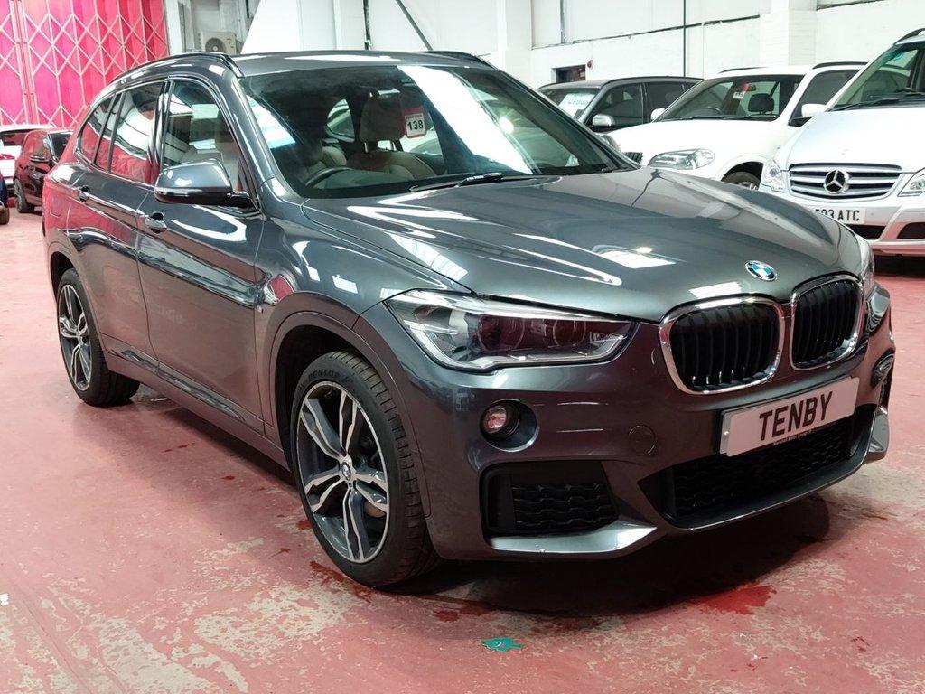USED 2016 16 BMW X1 2.0 SDRIVE18D M SPORT 5d AUTO 148 BHP
