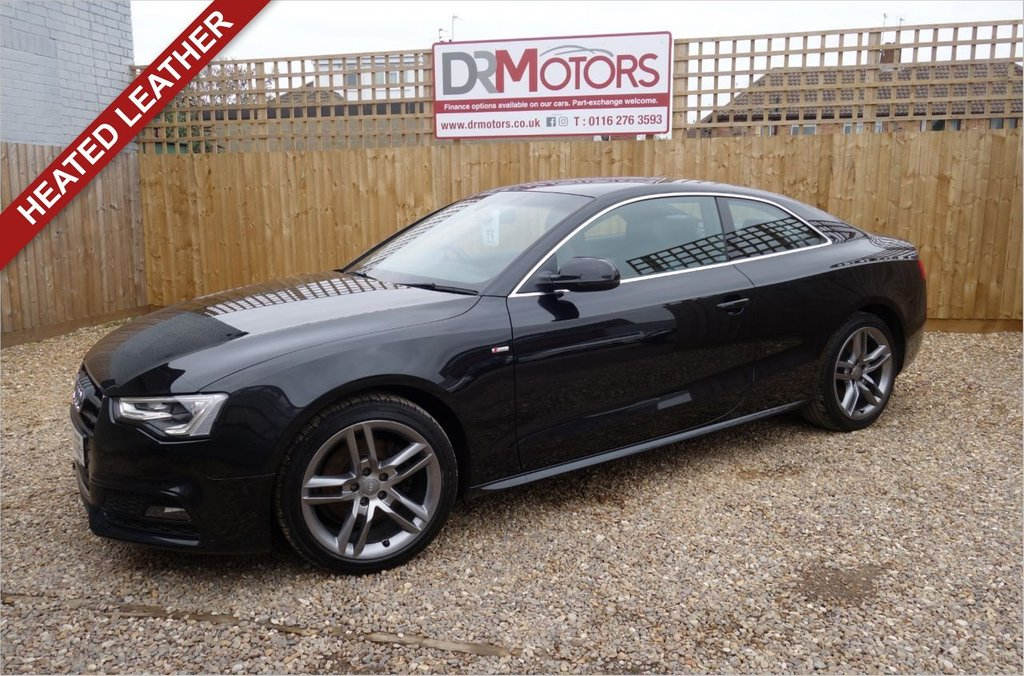 USED 2013 63 AUDI A5 1.8 TFSI S LINE 2d 168 BHP *** 6 MONTHS NATIONWIDE GOLD WARRANTY ***