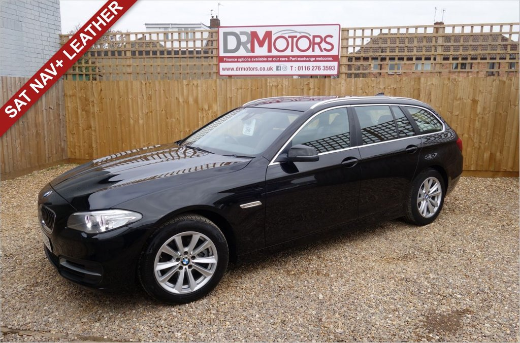 USED 2014 64 BMW 5 SERIES 2.0 518D SE TOURING 5d 148 BHP *** 6 MONTHS NATIONWIDE GOLD WARRANTY ***