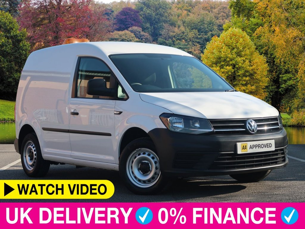 USED 2016 16 VOLKSWAGEN CADDY 1.6 TDi BlueMotion Tech Startline + C20 Van 5dr Bluemotion Bluetooth Ply Lined