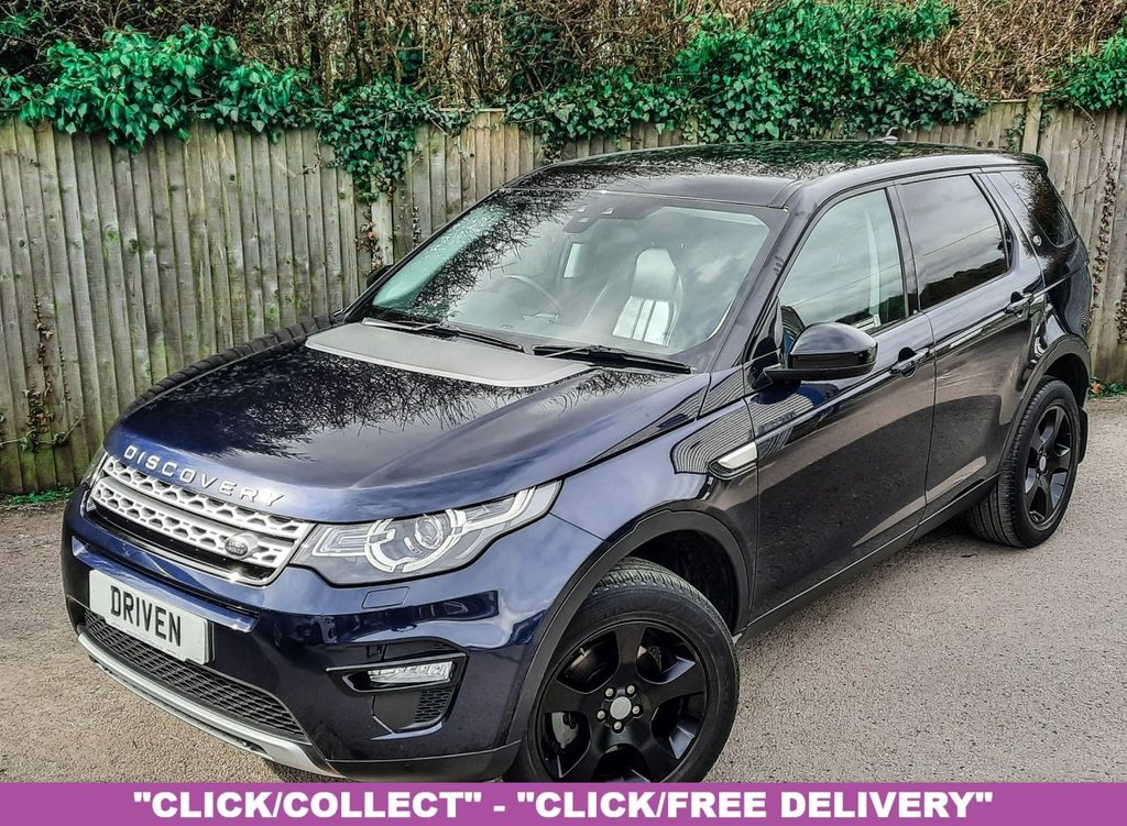 USED 2016 65 LAND ROVER DISCOVERY SPORT 2.0 TD4 HSE 5d 150 BHP