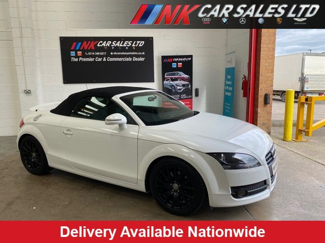 USED 2010 10 AUDI TT 1.8L TFSI 2d 160 BHP 1 FORMER KEEPER  FROM NEW LOW MILES WITH FULL AUDI HISTORY