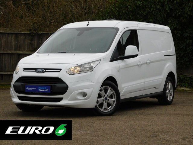 USED 2017 17 FORD TRANSIT CONNECT 1.5 240 LIMITED P/V 118 BHP Euro 6+DAB Radio+Aircon+Alloys