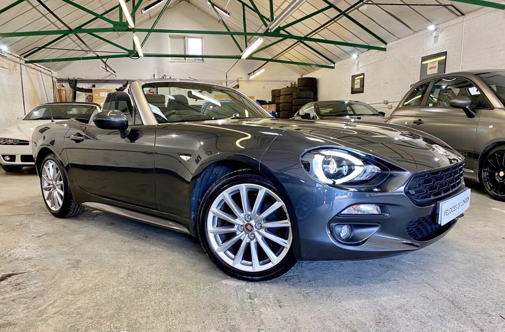USED 2018 18 FIAT 124 1.4 SPIDER MULTIAIR LUSSO PLUS 2d 139 BHP JUST SERVICED