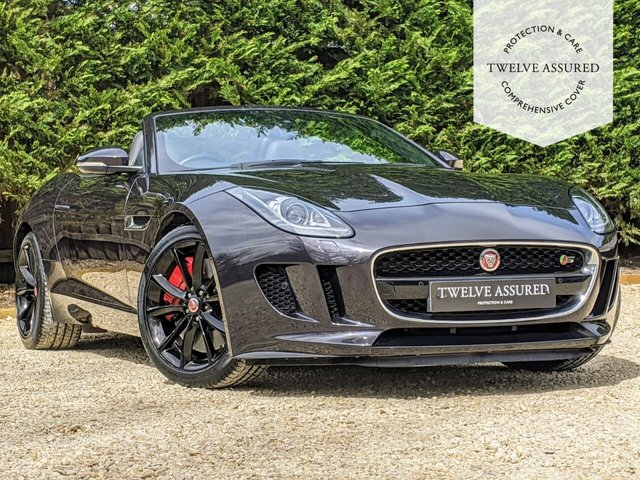 USED 2015 15 JAGUAR F-TYPE 3.0 V6 S 2d AUTO 380 BHP (R/CAMERA & RED CALIPERS)