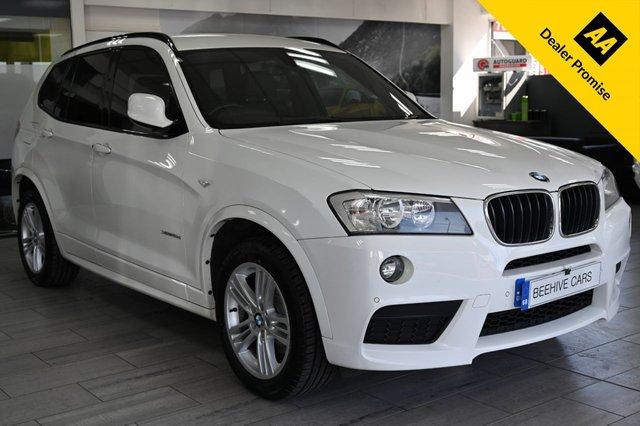USED 2013 13 BMW X3 2.0 XDRIVE20D M SPORT 5d 181 BHP