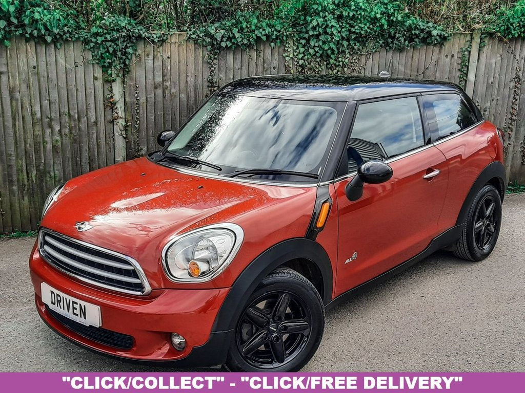 USED 2013 13 MINI PACEMAN 1.6 PACEMAN COOPER D ALL4 3d 112 BHP