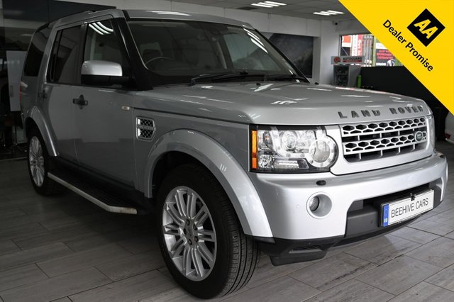 USED 2011 60 LAND ROVER DISCOVERY 3.0 4 TDV6 HSE 5d 245 BHP