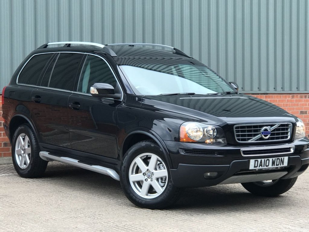 USED 2010 10 VOLVO XC90 2.4 D5 ACTIVE AWD 5d 185 BHP EXCELLENT CONDITION AND FANTASTIC VALUE 4X4