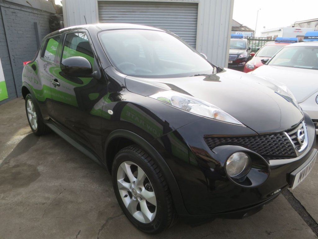 USED 2011 11 NISSAN JUKE 1.6 ACENTA 5d 117 BHP * FINANCE AND UK DELIVERY AVAILABLE! *