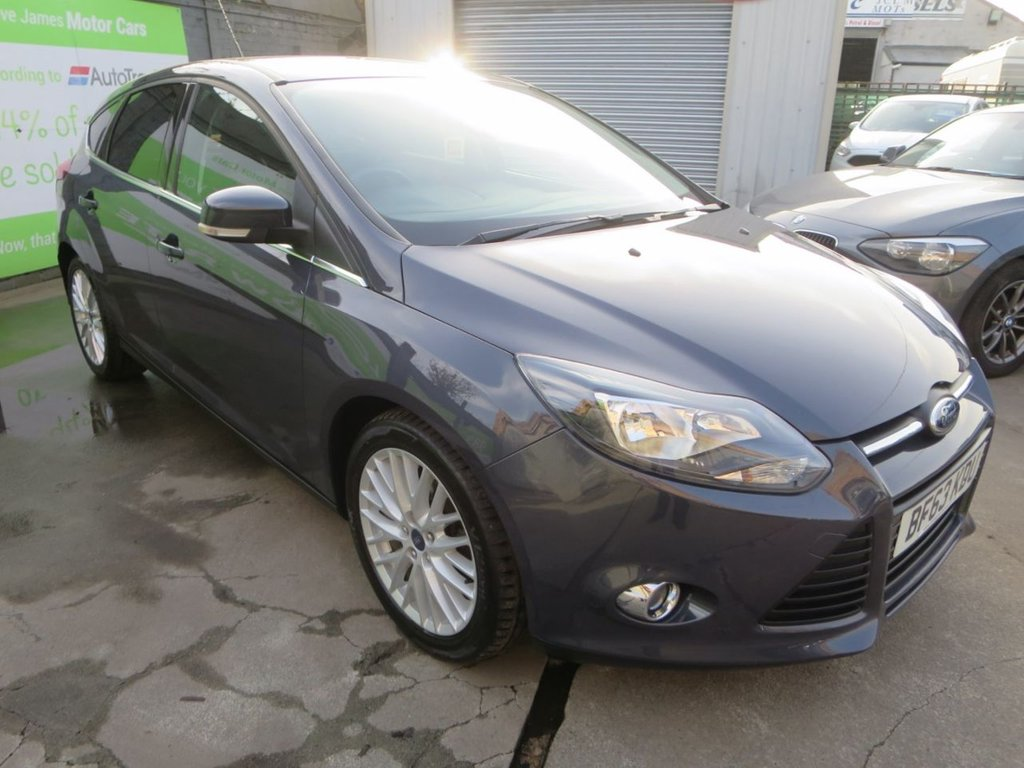 USED 2013 63 FORD FOCUS 1.6 ZETEC TDCI 5d 113 BHP * FINANCE AND UK DELIVERY AVAILABLE! *