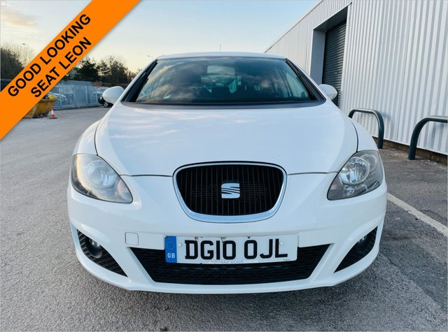 USED 2010 10 SEAT LEON 2.0 SPORT TDI 5d 138 BHP 12 MONTH MOT - DIESEL - CHEAP GOOD LOOKING SEAT LEON -REFURBISHED ALLOY WHEELS - AUX & USB CONNECTIVITY - 6 MONTH WARRANTY