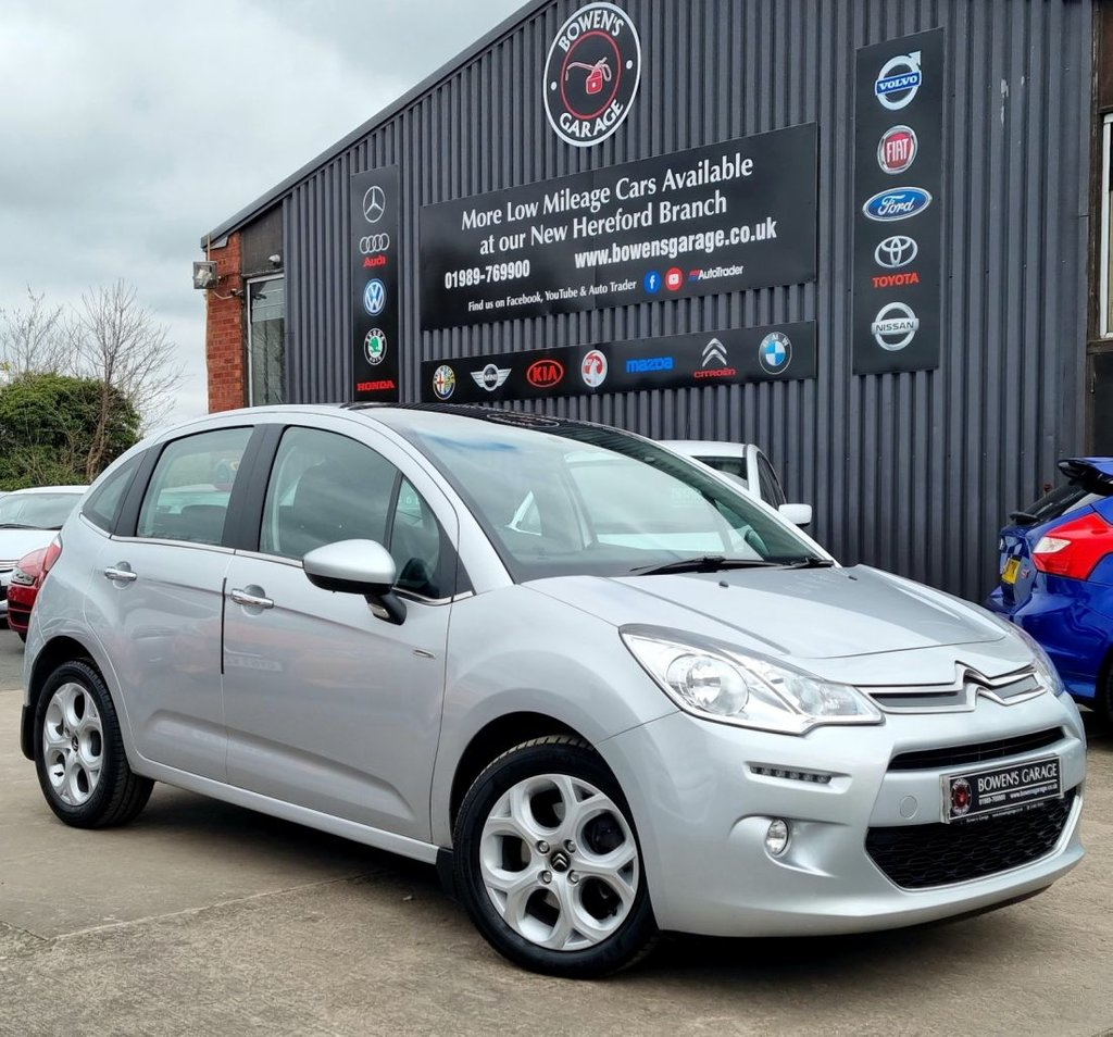 USED 2014 64 CITROEN C3 1.6 EXCLUSIVE AUTO 5D 118 BHP AUTO - 2 Owners - Low Miles - 6 Services
