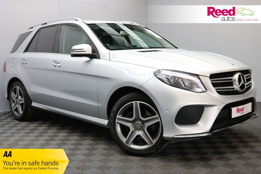 USED 2017 17 MERCEDES-BENZ GLE-CLASS 3.0 GLE 350 D 4MATIC AMG LINE 5d 255 BHP 1 OWNER+LOW MILEAGE+19 INCH ALLOY WHEELS+LEATHER SEAT UPHOLSTERY+REAR PARKING CAMERA+AUTOMATIC LIGHTS