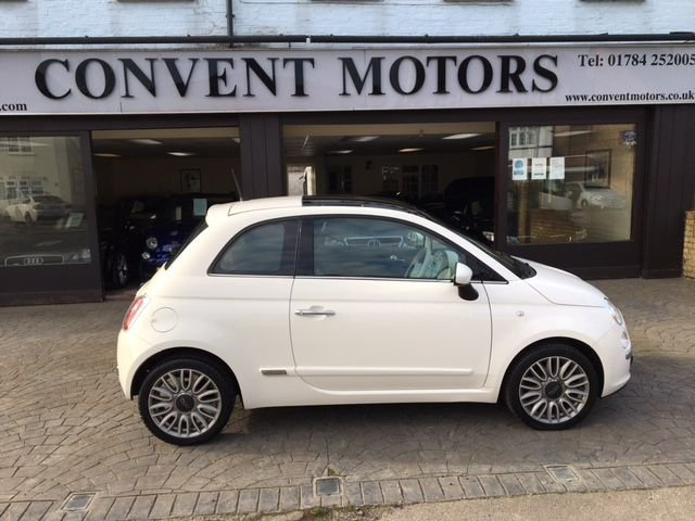 USED 2015 65 FIAT 500 1.2 LOUNGE DUALOGIC 3d 69 BHP