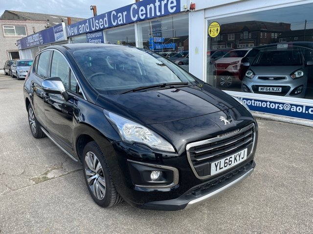 USED 2017 66 PEUGEOT 3008 1.6 BLUE HDI S/S ACTIVE 5d 120 BHP £20 TAX*CRUISE*AC*FULL SERVICE HISTORY*PARKING SENSOR