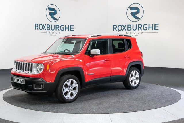 USED 2015 65 JEEP RENEGADE 2.0 M-JET LIMITED 5d 138 BHP