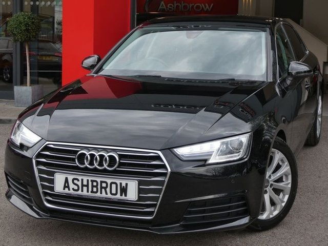 USED 2016 16 AUDI A4 2.0 TDI ULTRA SE 4d 150 S/S £0 TAX (99 G/KM), UPGRADE HEATED SEATS, UPGRADE  FRONT & REAR PARKING SENSORS WITH DISPLAY, UPGRADE ELECTRIC 4 WAY LUMBAR SUPPORT, AUDI SMART PHONE WITH APPLE CAR PLAY & ANDROID AUTO (GIVES YOU SAT NAV), AUDI CONNECT, BLUETOOTH PHONE & MUSIC STREAMING, DAB RADIO, CRUISE CONTROL WITH SPEED LIMITER, TINTED GLASS, MANUAL 6 SPEED, LEATHER MULTIFUNCTION STEERING WHEEL, LIGHT & RAIN SENSORS, AUDI DRIVE SELECT, KEYLESS START, AUDI PRE SENSE, AUX & USB, 3 ZONE CLIMATE CONTROL A/C, GOOD SERVICE HIST