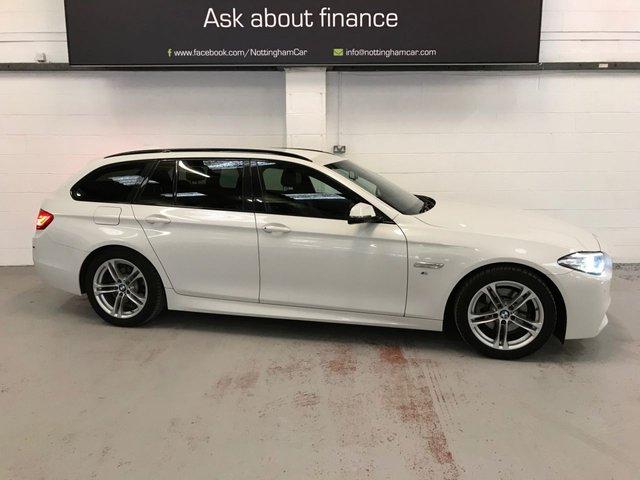 USED 2016 16 BMW 5 SERIES 2.0 520D M SPORT TOURING 5d 188 BHP