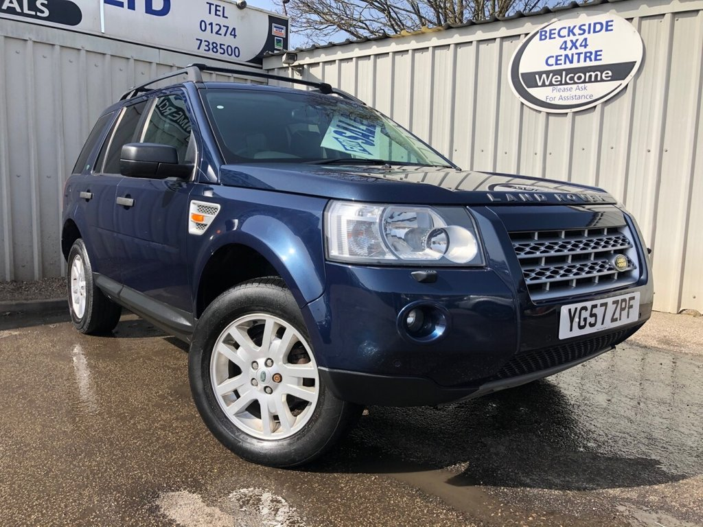 USED 2007 57 LAND ROVER FREELANDER 2.2 TD4 XS 5d 159 BHP BARGAIN TO CLEAR. LONG MOT