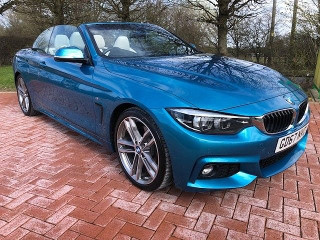 USED 2017 67 BMW 4 SERIES 2.0 420I M SPORT 2d 181 BHP
