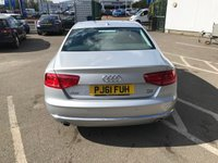 USED 2011 61 AUDI A8 3.0 TDI QUATTRO SE 4d 250 BHP SAT NAV, LEATHER + MORE