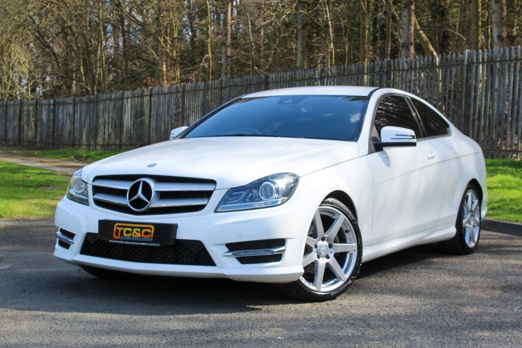 USED 2015 64 MERCEDES-BENZ C-CLASS 2.1 C220 CDI AMG SPORT EDITION 2d 168 BHP A STUNNING LOW MILEAGE C CLASS COUPE WITH A COMPREHENSIVE SERVICE HISTORY!!!