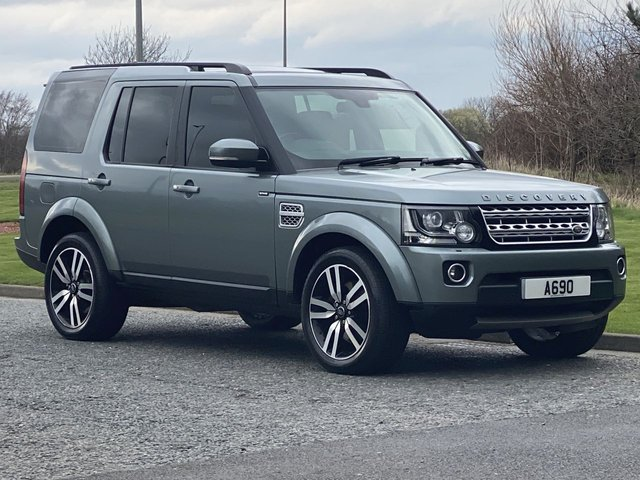 USED 2014 64 LAND ROVER DISCOVERY 3.0 SDV6 HSE LUXURY 5d 255 BHP 7 SEATER 8 SPEED AUTO 8 Speed 7 Seat Pan Roof