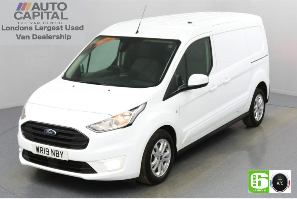 USED 2019 19 FORD TRANSIT CONNECT 1.5 240 Limited EcoBlue 120 BHP L2 LWB 3 Seats Low Emission Keyless   Air Con   R. Sensors   Alloy wheels   Auto Start-Stop system